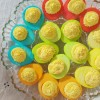 Technicolor Deviled Eggs