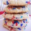 Sprinkle Cake Cookies