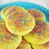 Lemon Jell-O Gem Cookies