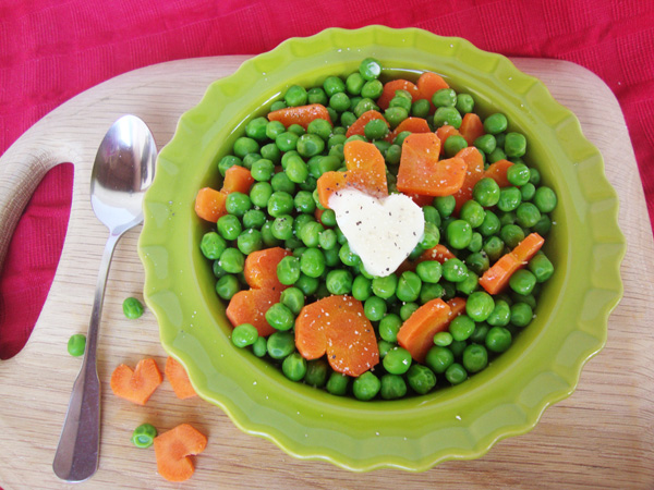 Peas And Heart Carrots 2