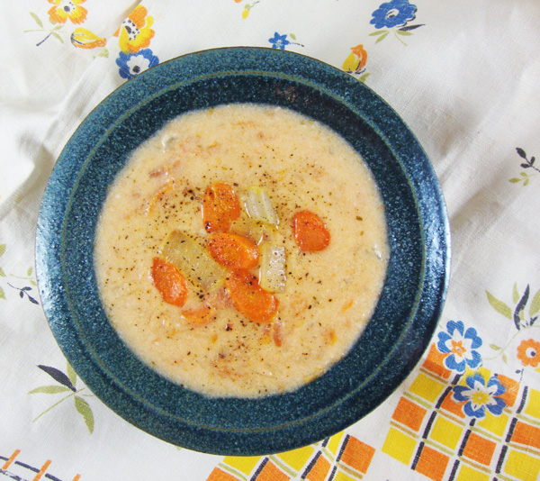 Creamy Chunky Tomato Soup