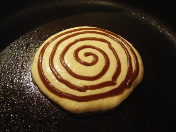 Cinnamon Roll Pancakes 2 a