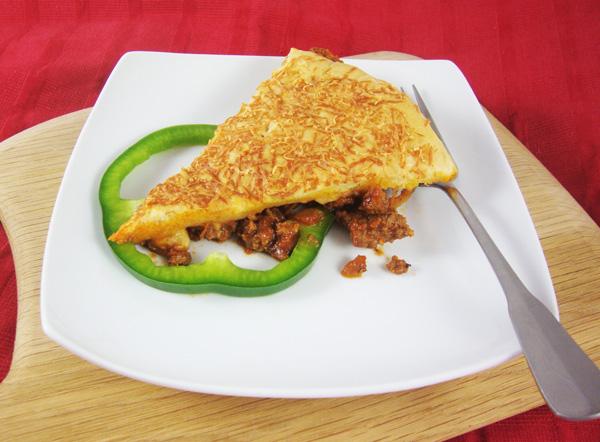 Rhodes Upside-Down Lotsa Meatsa Pizza 5